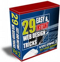 Pay for 29 Easy & Instant Web Design Tricks - Volume 2