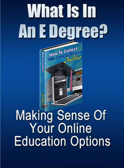 Pay for What Is In An E-Degree?