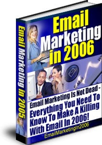 Pay for Email Marketing in 2006