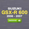 Thumbnail Suzuki 2006 - 2007 GSXR 600 GSX-R 600 Service Repair Manual