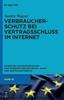 Thumbnail Verbraucherschutz bei Vertragsschluss im Internet