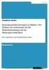 Thumbnail Konsumentenbeziehungen zu Marken - Der Einfluss des Lebensstils auf die Markenbeziehung und die Markenpersönlichkeit