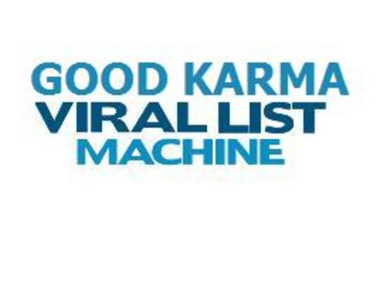 Pay for Good Karma Viral List Machine