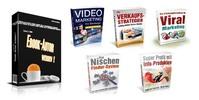 Thumbnail Ebook Autor werden + 5 Marketing Ebooks + MRR Lizenz