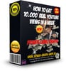 Thumbnail Get 10.000 Real YouTube Views In A Week + PLR Lizenz + BONUS