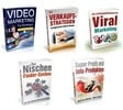 Thumbnail 5 Deutsche Marketing eBooks + MRR Lizenz , Virales Marketing