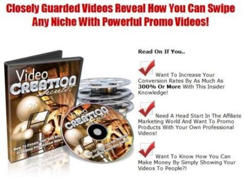 Pay for Video Creation Secrets + MRR License