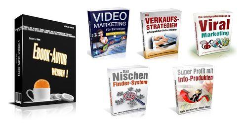 Pay for Ebook Autor werden + 5 Marketing Ebooks + MRR Lizenz