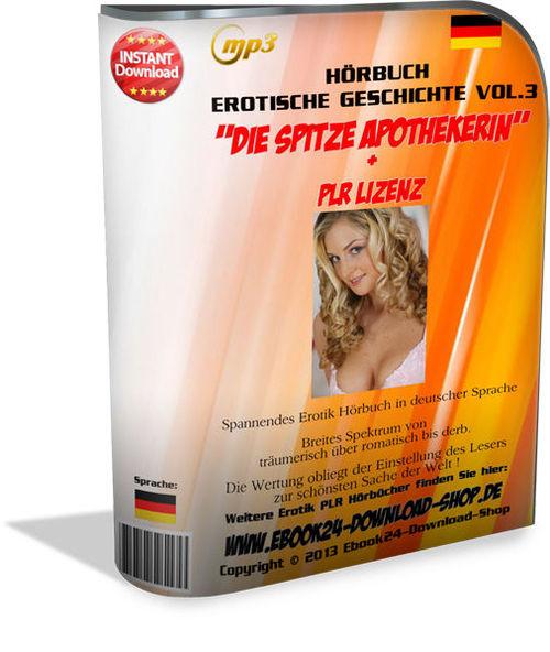 Pay for Audio Hoerbuch - Die Spitze Apothekerin - PLR Lizenz , MP3