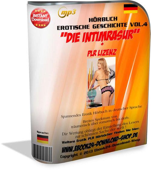 Pay for Erotik Audio Hoerbuch 2013- Die Intimrasur + PLR Lizenz ,MP3