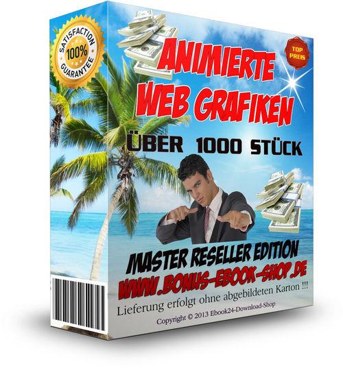 Pay for Animierte Web Grafiken + MRR Lizenz , Design , Website , NEU