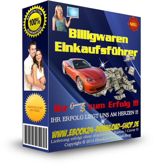 Pay for Billigwaren Einkaufsfuehrer , Elektro , PC , Schmuck , Uhren