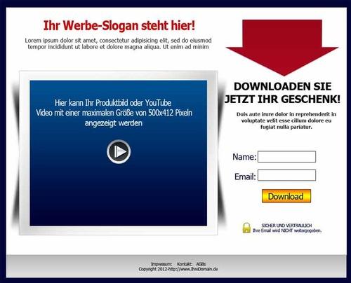 Pay for Squeeze Seiten Generator + Reseller Rechte , RR Lizenz