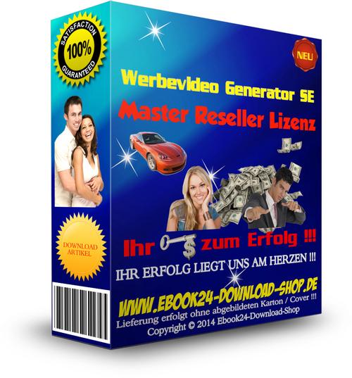 Pay for Werbevideo Generator SE + MRR Lizenz ,Master Reseller Lizenz