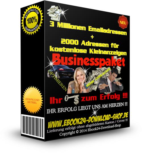 Pay for E-Mail-Adressen - ca. 3 Mio + XXL BONUS , Newsletter ,Email