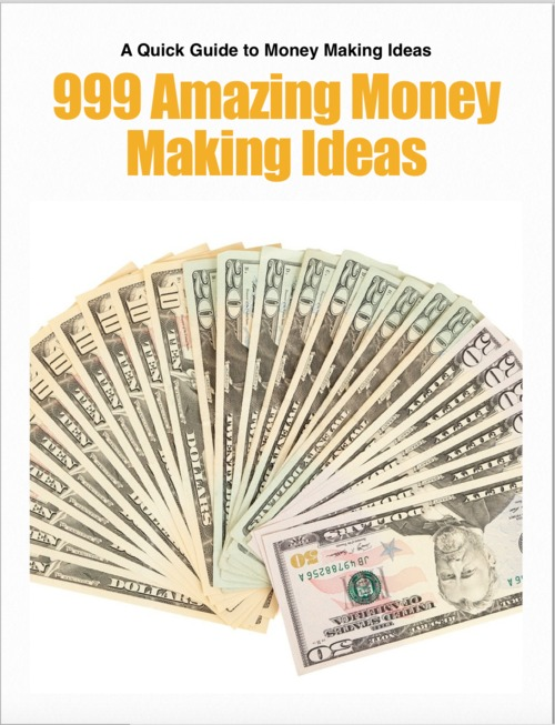 Pay for 999 Money Making Ideas