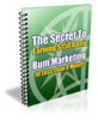 Thumbnail Bum Marketing - Make Money With Internet Marketing, PLR
