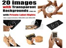 Thumbnail 20 images with Transparent Backgrounds with PLR Rights