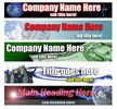 Thumbnail 35 Private Label Totally Customisable Header Graphics (MRR)