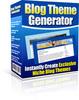 Thumbnail Blog Theme Generator (MRR)