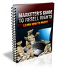 Thumbnail Marketers Guide To Resell Rights (MRR)