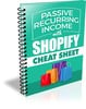 Thumbnail Passive Recurring Income with Shopify