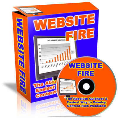 Pay for Website Fire (Master Private Label Rights included)