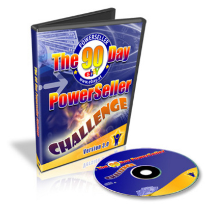 Pay for The 90 Day PowerSeller Challenge Ver 3.0 - Make an eBook CD
