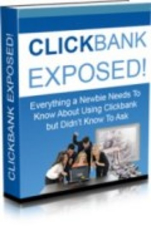 Pay for ClickBank Exposed (includes Master Resale Rights)