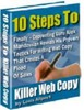 Thumbnail 10 Steps To Killer Web Copy - Increase Your Sales