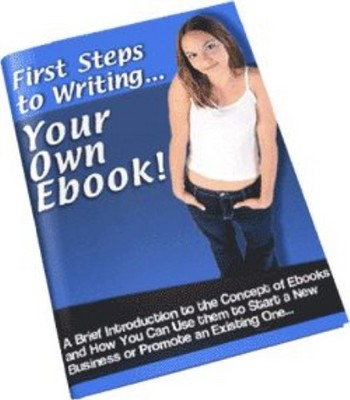 Pay for First Steps to Writing Your Own eBook