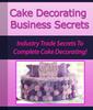 Thumbnail Cake Decorating Business Secrets