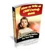 Thumbnail How to Win at Child Custody Battle - w/Private Label Rights