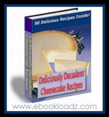 Pay for Cheesecake Recipes Ebook With Resell Rights