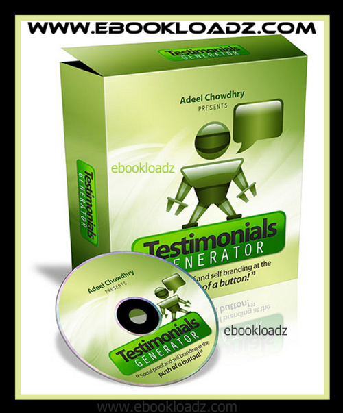 Pay for Testimonials Generator With Master Resell Rights + Website ! NEW !!