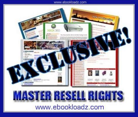 Pay for 85 Exclusive Niche Content Websites With Master Resell Rights