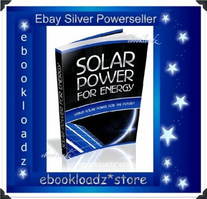 Pay for Solar Power For Energy Ebook With Master Resell Rights