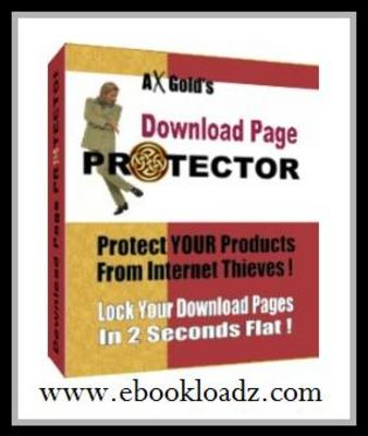 Pay for Download Page Protector - Easy Way To Protect YOUR Products From Internet Thieves! With MASTER RESELL RIGHTS !!