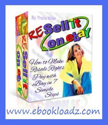 Pay for RESELL it On eBay Ebook With Master Resell Rights !!
