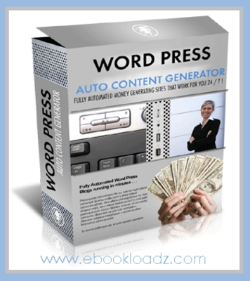 Pay for Automate Your Blogs With Wordpress Auto Content Generator Includes Master Resell Rights ! NEW !!