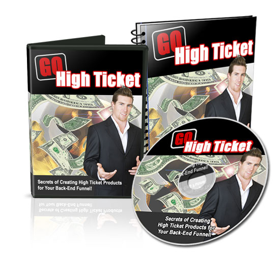 Thumbnail Go High Ticket   Secrets of creating high ticket products