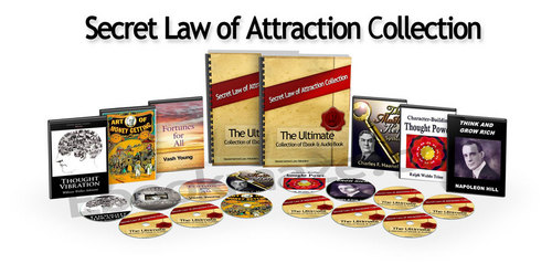 Pay for Secret Law of  attraction  Collection