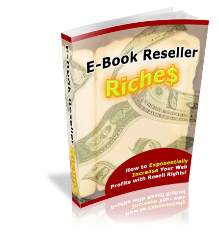 Thumbnail E book Reseller Riches