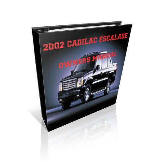 Pay for 2002 Cadillac Escalade Repair manual