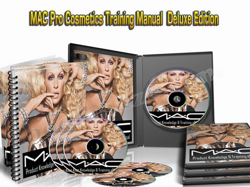 Pay for **NEW** MAC Pro Cosmetics Training Manual Bible Deluxe Edition! 2015