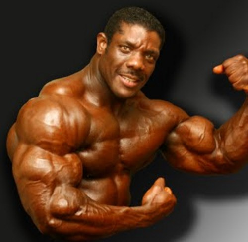 steroid guy arms