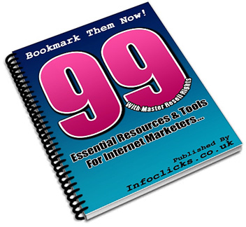 Thumbnail 99 Essential Resources & Tools for Internet Marketers