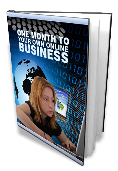Thumbnail **one month to your own online business**