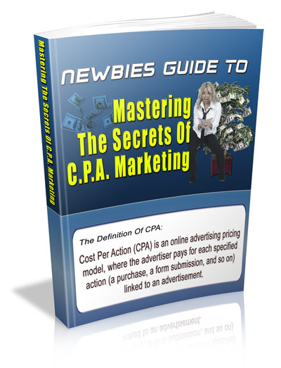 Thumbnail Newbies Guide To Mastering CPA