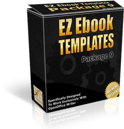 Thumbnail EZ Ebook TEMPLATES